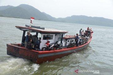 Angkutan pemudik sepi Pulau Aceh