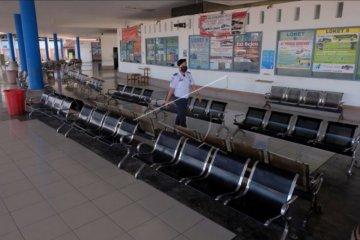 Terminal Mengwi sepi aktivitas mudik