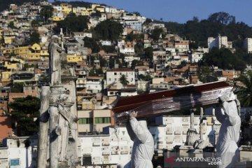 COVID-19 di Brazil terus melonjak, yakni 26.417 kasus baru dalam 24 jam