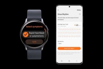 Samsung Galaxy Watch Active2 akan dipasang fungsi pemantau jantung EKG