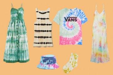 Tie-dye diprediksi bakal jadi tren busana musim panas