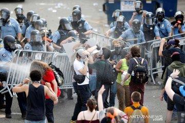 Unjuk rasa meluas di Minneapolis AS pascadugaan pembunuhan rasis  oleh polisi
