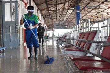 Adaptasi normal baru di stasiun KA Madiun