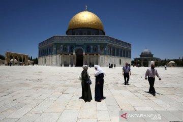 Puluhan pemukim Israel paksa masuk kompleks Masjid Al-Aqsa Yerusalem