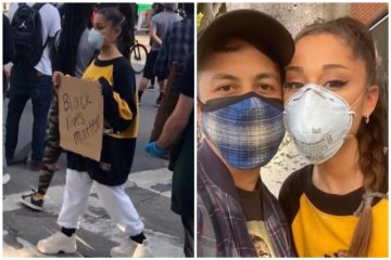 Protes kematian Floyd, Ariana Grande sampai John Cusack turun ke jalan