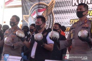 Kronologis terungkapnya sindikat sabu-sabu internasional di Sukabumi