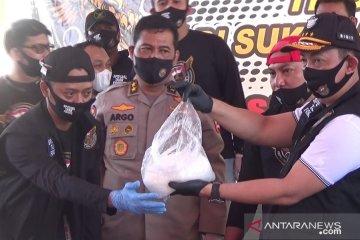 402,38 kg sabu-sabu di Sukabumi berasal dari Timur Tengah