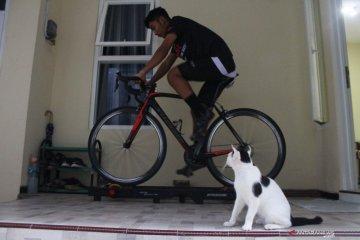 Latihan atlet sepatu roda hadapi PON Papua