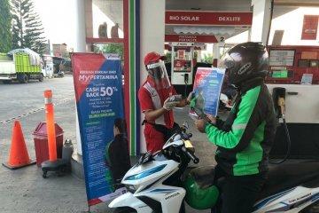 Pertamina koneksikan 152 SPBU di Surabaya Raya dengan aplikasi