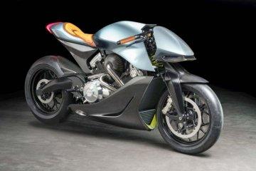 Aston Martin uji sepeda motor pertama AMB 001