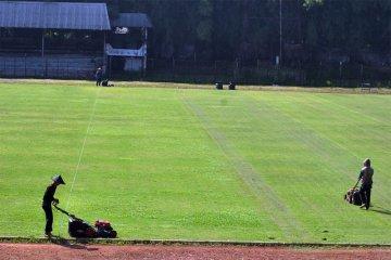 Perawatan Stadion Pajajaran Bogor di tengah Pandemi Covid-19