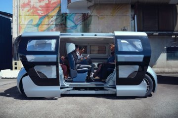 NEVS luncurkan kendaraan otonom