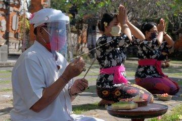 Persiapan protokol kesehatan jelang Hari Saraswati