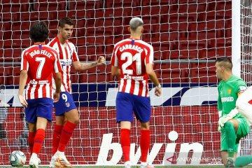 Atletico Madrid cengkeram posisi tiga besar selepas bungkam Mallorca 3-0