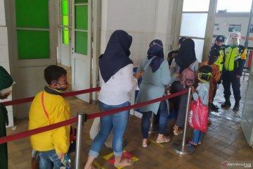 Stasiun Cianjur catat lonjakan penumpang KA Siliwangi pada hari ketiga