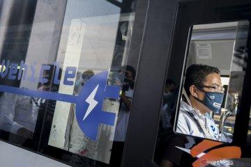 TransJakarta uji coba bus listrik untuk rekomendasikan pengadaan
