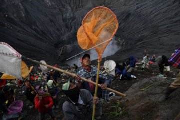 Suku Tengger gelar Yadnya Kasada