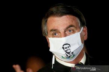 Hasil tes COVID-19: Presiden Brazil Jair Bolsonaro kembali positif