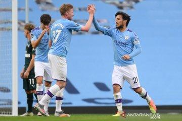 Manchester City jadikan Newcastle pelampiasan dengan lima gol tanpa balas