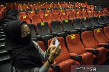 Simulasi pembukaan bioskop