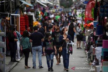 Brazil: 1.214 kematian baru akibat corona dalam 24 jam