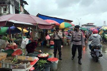 Brimob Polda Maluku intensif  sosialisasi protap anti virus COVID-19