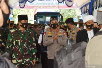 Kunjungan kerja Panglima TNI dan Kapolri di Madiun