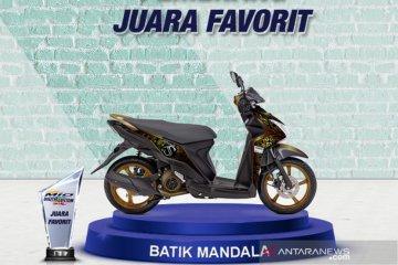 Batik Mandala juara favorit Mio Digital Custom Challenge