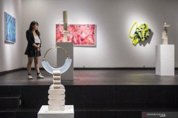"""Seniman muda gelar pameran seni rupa """"Poetical Vector"""""""