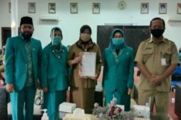 DP2KBP3A Paser lakukan penandatanganan  MoU dengan PKK