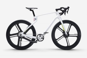 "Sepeda Superstrata, ""frame"" tanpa las bobot hanya 1,3 kg"