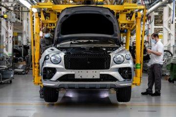 Bentley mulai kembali produksi Bentayga