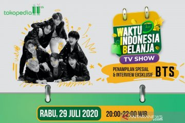 BTS bakal tampil spesial di acara Tokopedia 29 Juli 2020