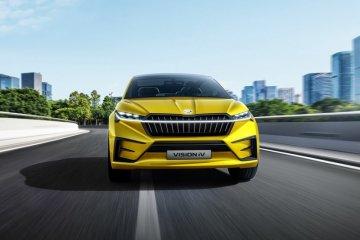 SUV listrik Skoda Enyaq iV debut dunia 1 September