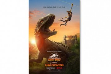 "Serial animasi ""Jurassic World Camp Cretaceous"" tayang mulai 18 September"