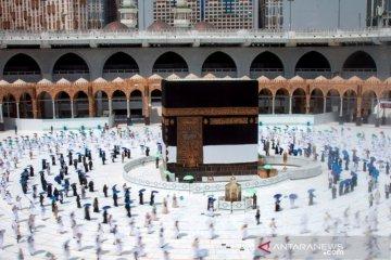 Pemerintah tunggu pengumuman Saudi perihal izin umrah