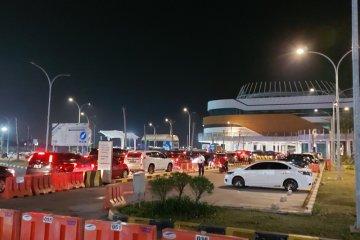 Suasana Terminal Eksekutif Pelabuhan Merak Banten Jelang Idul Adha