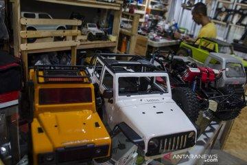 Perakitan mobil Remote Control di Bandung