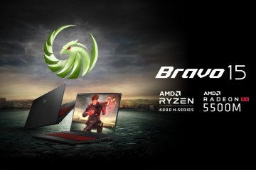 MSI boyong laptop gaming Bravo 15 ke Indonesia bulan ini