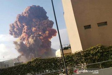 Ledakan besar terjadi di Beirut