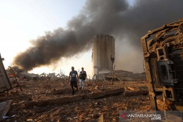 10 orang tewas dalam ledakan di Beirut