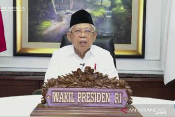 Wapres Amin: ISEF jadi kesempatan Indonesia perkuat pemasaran produk halal