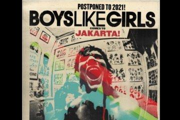 Konser Boys Like Girls di Jakarta ditunda hingga tahun depan