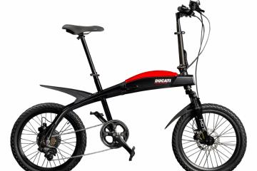Ducati dan MT Distribution hadirkan lini baru sepeda lipat elektrik
