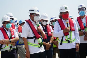 PP optimistis pembangunan Pelabuhan Patimban sesuai target
