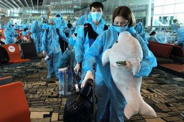 Penumpang Singapore Airlines dari Indonesia boleh transit di Changi