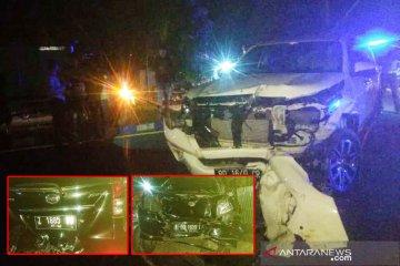 Tiga mobil tabrakan beruntun di kilometer 8 Kota Bengkulu, satu orang tewas