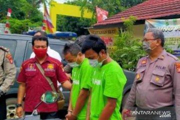 Polres Metro Bekasi ringkus dua residivis pencuri sepeda motor