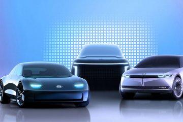 Hyundai siapkan empat mobil listrik berbasis IONIQ