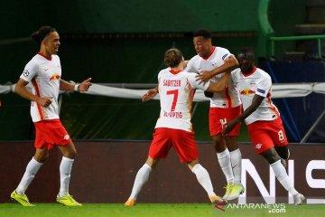 RB Leipzig melaju ke semifinal Liga Champions setelah kalahkan Atletico Madrid 2-1